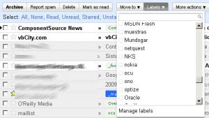 nueva gestion labels en gmail
