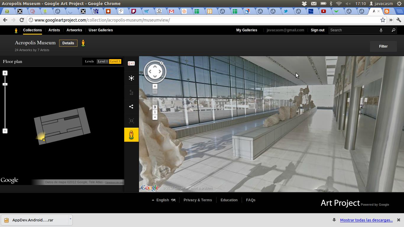 Google Art Project o como visitar museos de todo el mundo desde nuestro navegador
